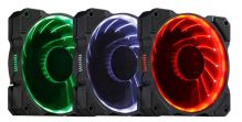 Ventilátor LED 12cm RGB (Ring Type)