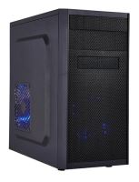 MC X203 EVO, black chassis, black HDD bracket, without fans, 2xUSB2.0, 1xUSB3.0(without splitter)